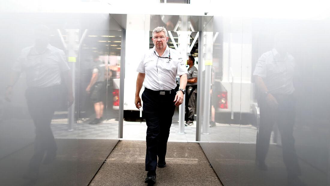 Ross Brawn - Mercedes - 2013