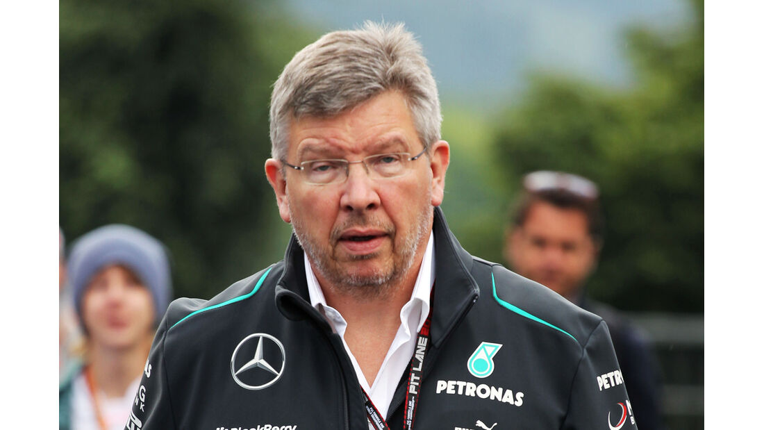 Ross Brawn - Mercedes - Formel 1 - GP Belgien - Spa Francorchamps - 23. August 2013