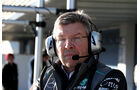 Ross Brawn - Mercedes - Formel 1 - Test - Jerez - 6. Februar 2013