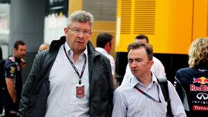 Ross Brawn & Paddy Lowe - Mercedes 2013