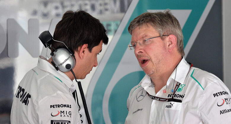 Brawn über Mercedes-Abschied