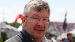 Ross Brawn Williams 2013
