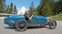 Rossfeldrennen, Bugatti T37, Seitenansicht