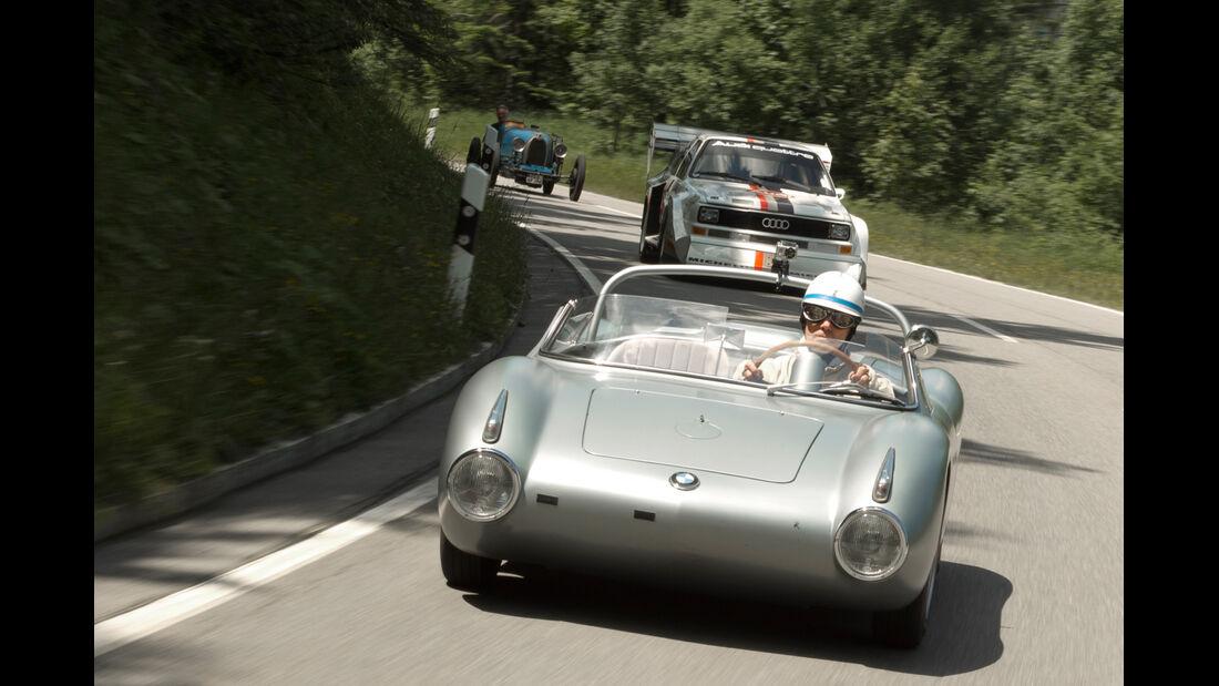 Rossfeldrennen, Porsche RS60, Frontansicht