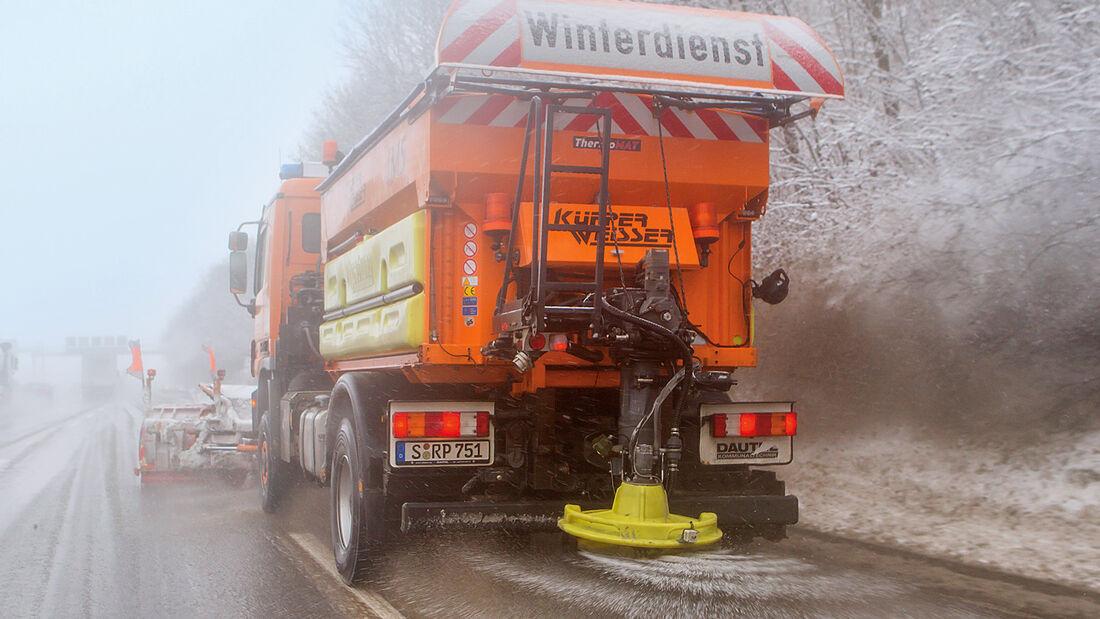 Rostvorsorge, Streufahrzeug