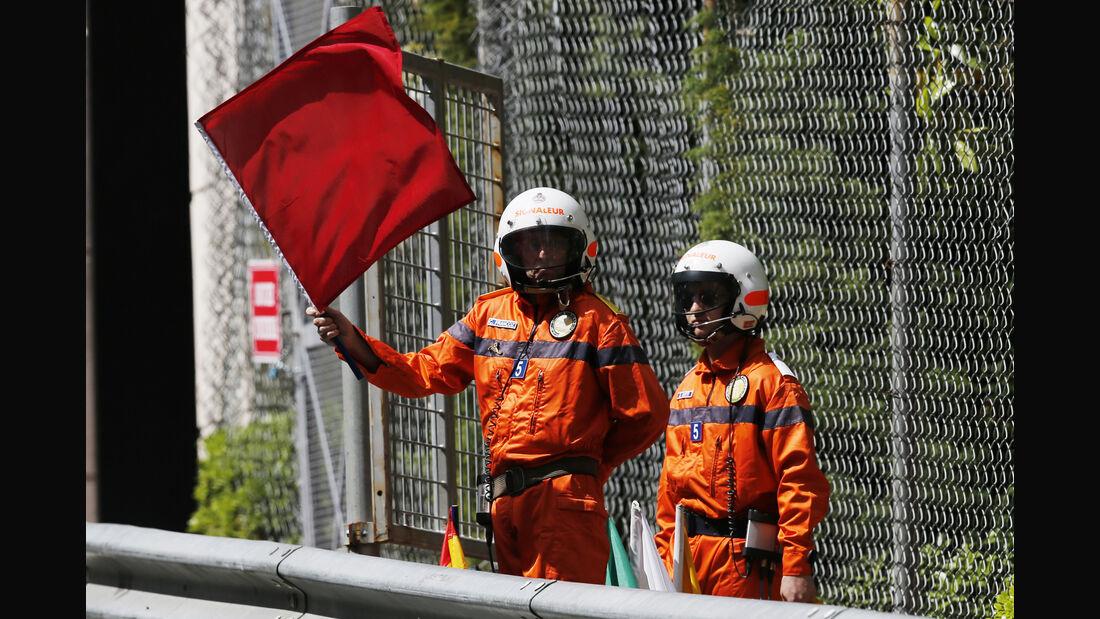Rote Flagge - GP Monaco 2016