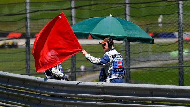 Rote Flagge - GP Österreich 2019