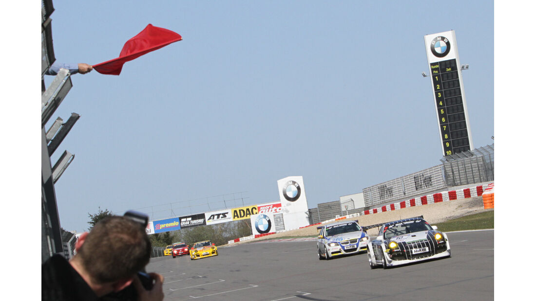 Rote Flagge, VLN Langstreckenmeisterschaft Nürburgring 28-4-2012