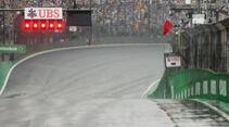 Rote Flaggen - Abbruch - GP Brasilien 2016