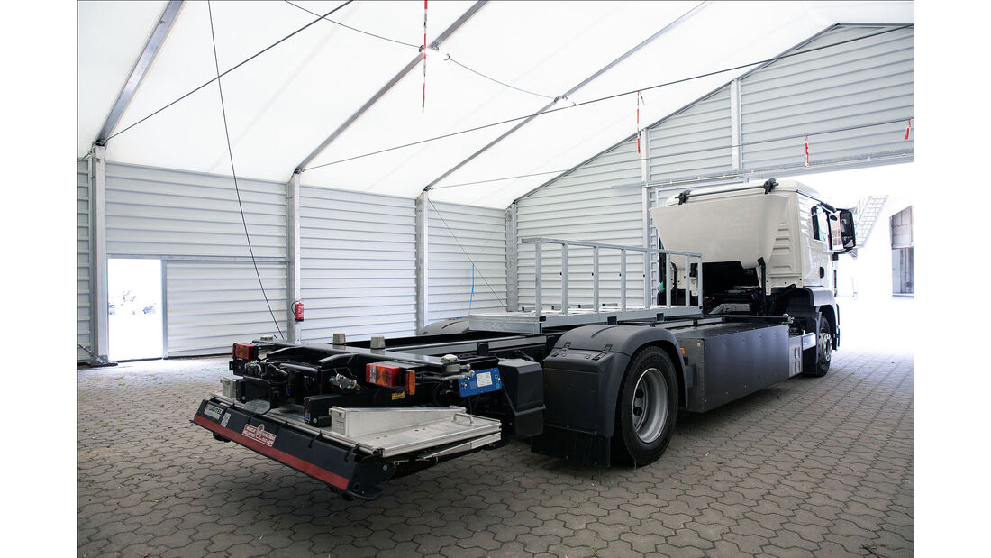 RouteCharge Elektro-Lkw Forschungsprojekt
