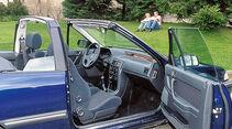Rover 216 Cabrio, Cockpit, Seitentür