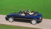 Rover 216 Cabrio, Seitenansicht