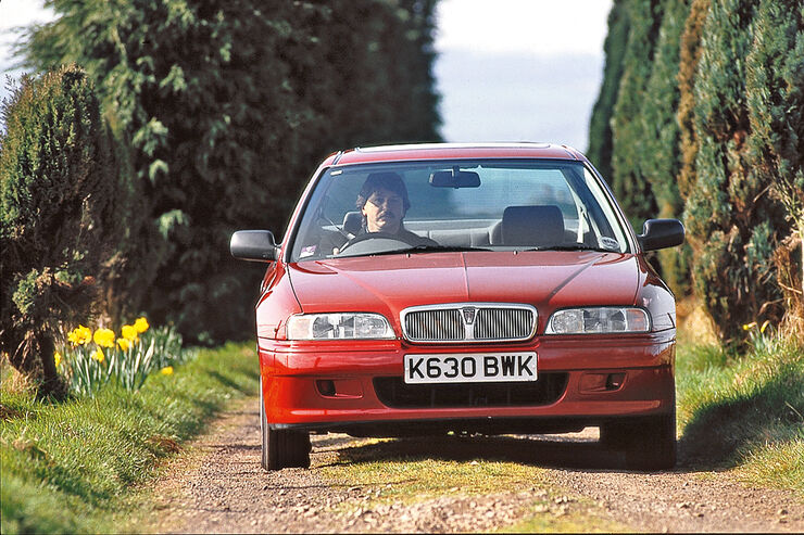 Rover 600, Frontansicht