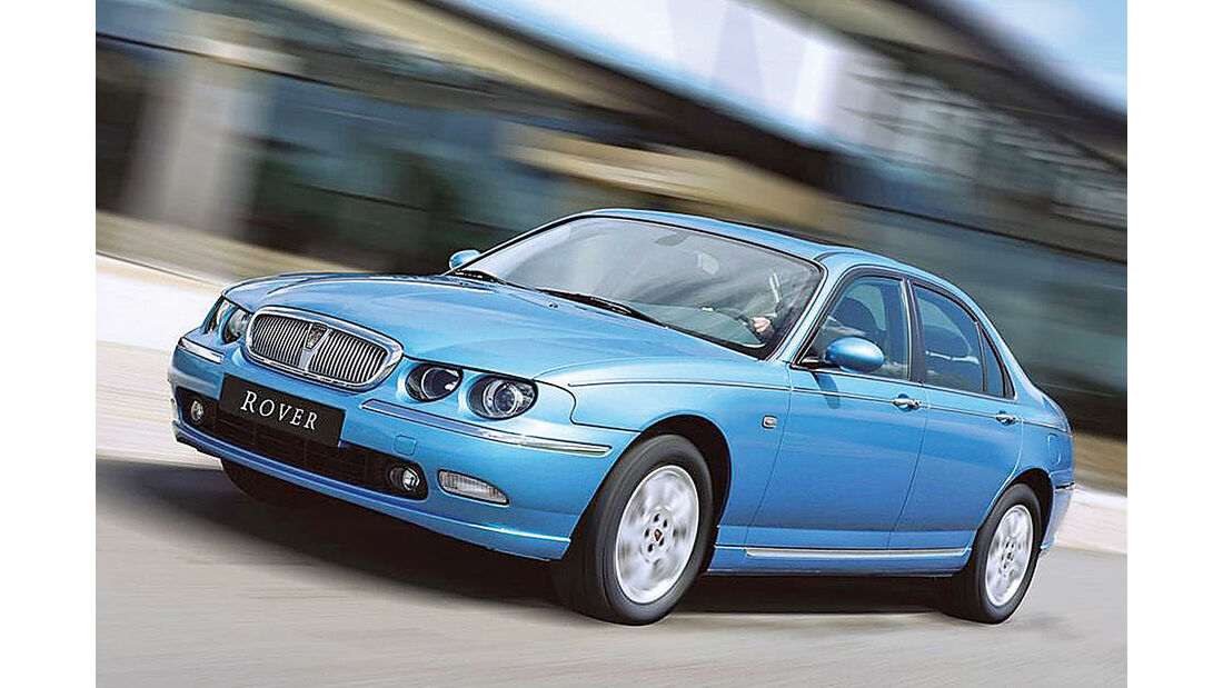 Rover 75 1.8,  Frontansicht