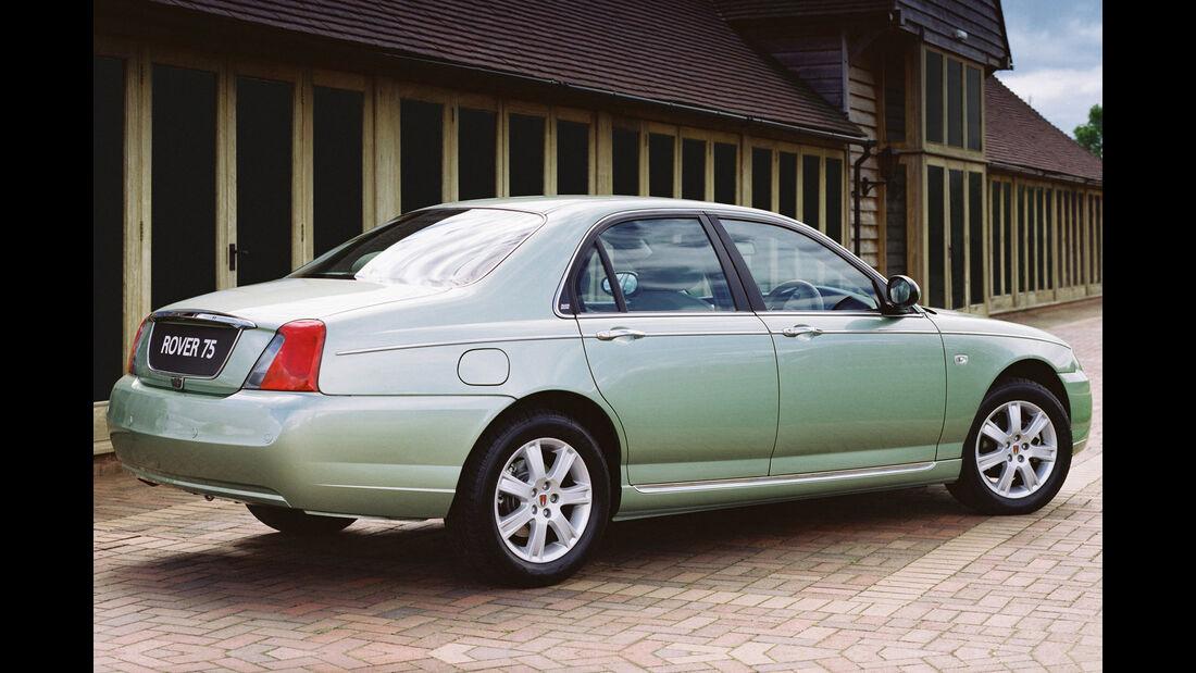 Rover 75 1.8,  Heckansicht