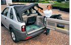 Rover Freelander Softtop, Glasfenster, Scherben