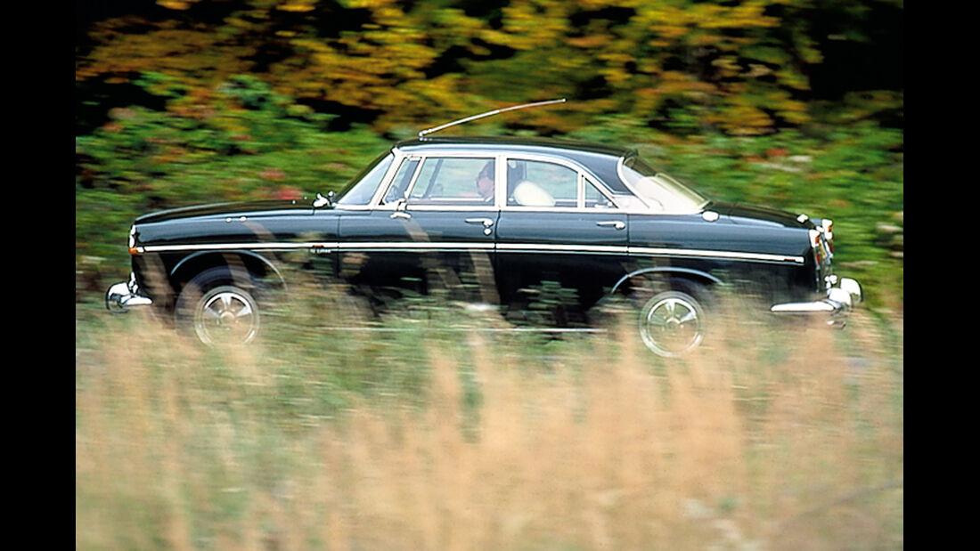 Rover P5, Seitenansicht