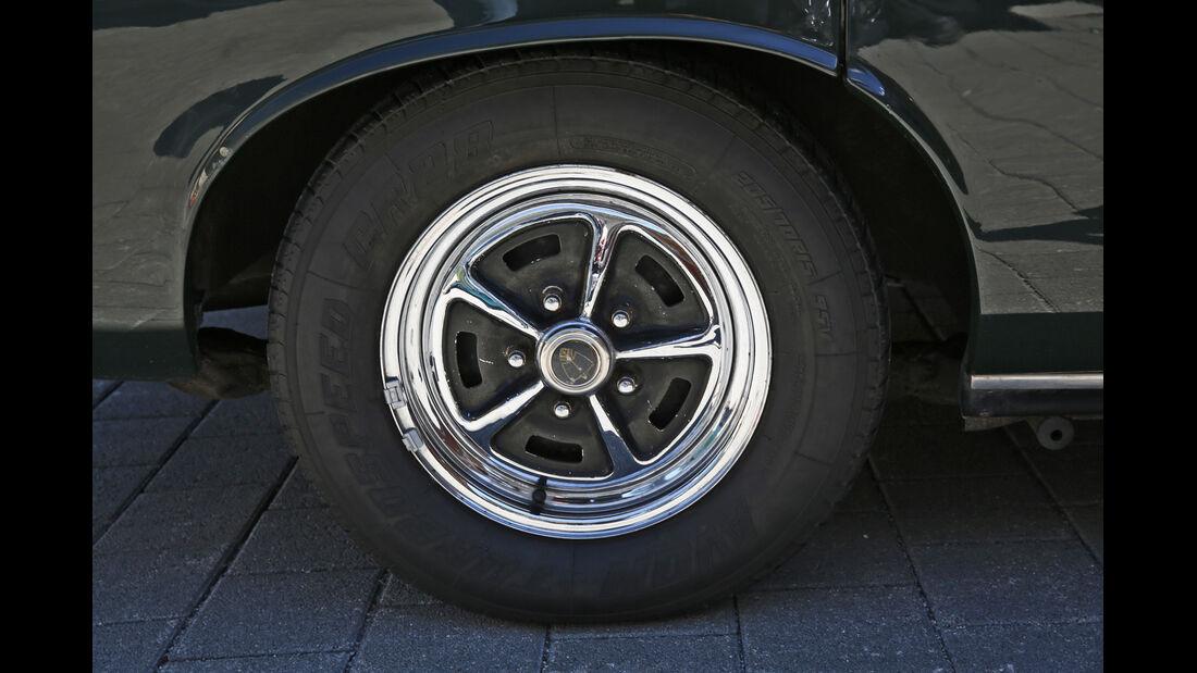 Rover P5B, Rad, Felge