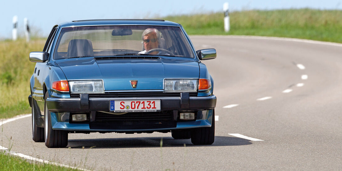 Rover Vitesse, Frontansicht