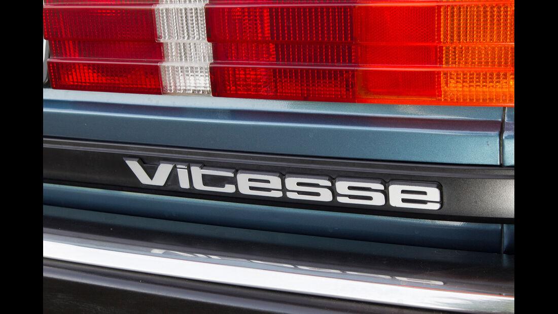 Rover Vitesse (SD1), Emblem, Typenbezeichnung
