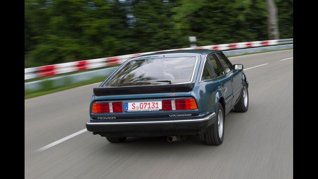 Rover Vitesse (SD1), Heckansicht