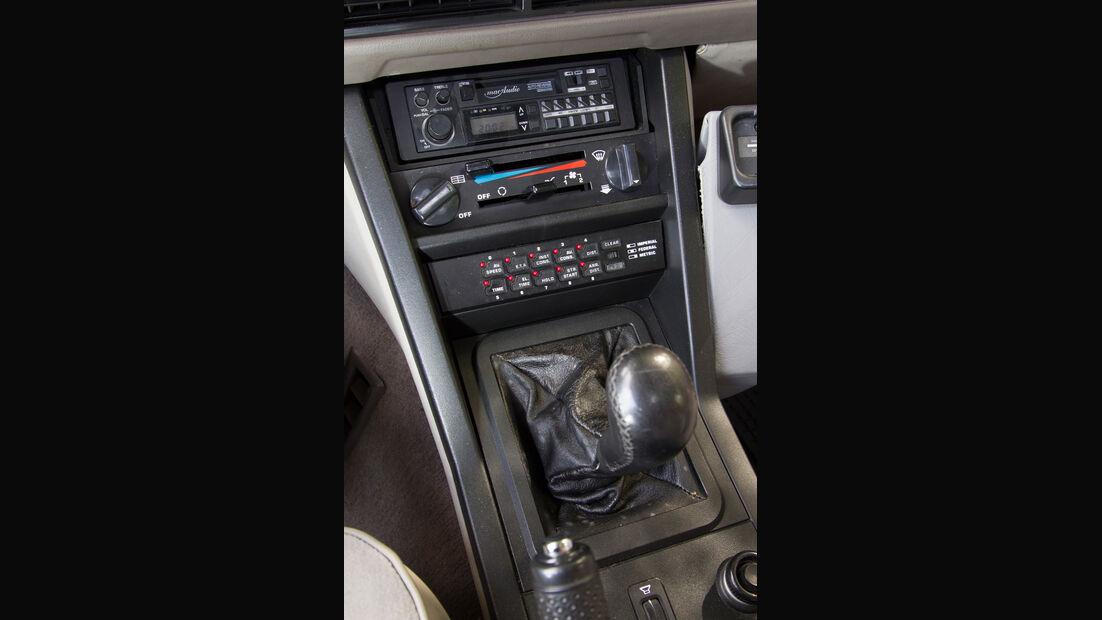 Rover Vitesse (SD1), Mittelkonsole