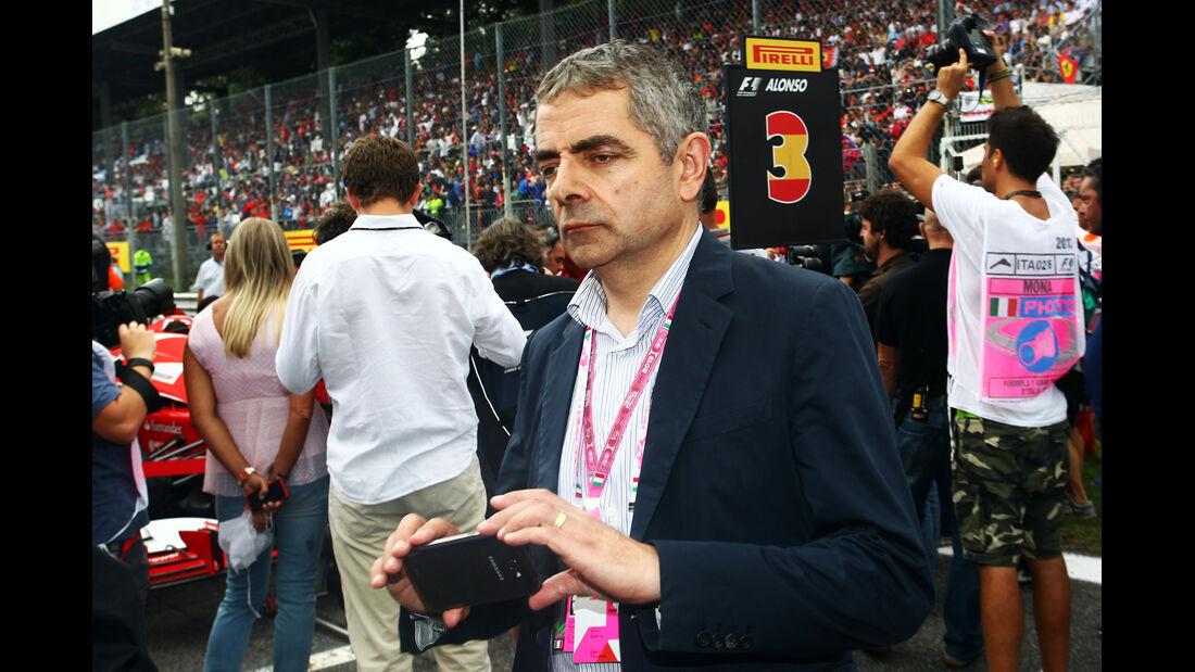 Rowan Atkinson - Mr.Bean - Formel 1 - GP Italien 2013