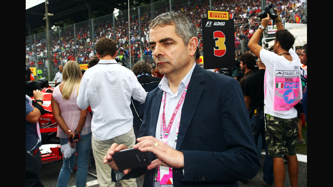 Rowan Atkinson - Mr.Bean - Formel 1 - GP Italien 2013