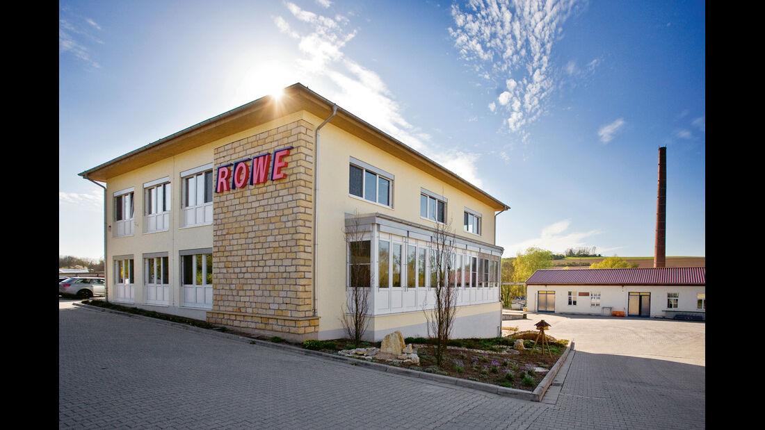 Rowe, Gebäude