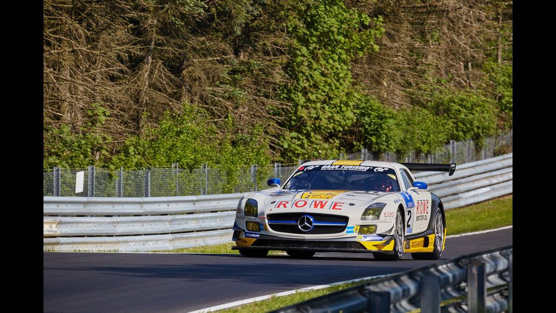 Rowe Racing - Mercedes SLS AMG GT3 - #22 - 24h-Rennen Nürburgring 2015 - Top-30-Qualifying