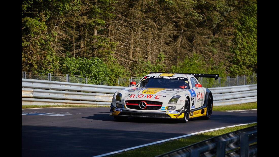 Rowe Racing - Mercedes SLS AMG GT3 - #23 - 24h-Rennen Nürburgring 2015 - Top-30-Qualifying