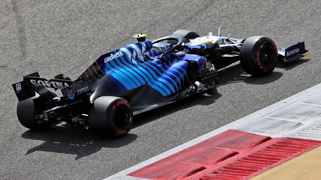 Roy Nissani - Williams - Test - Formel 1 - Bahrain - 12. März 2021