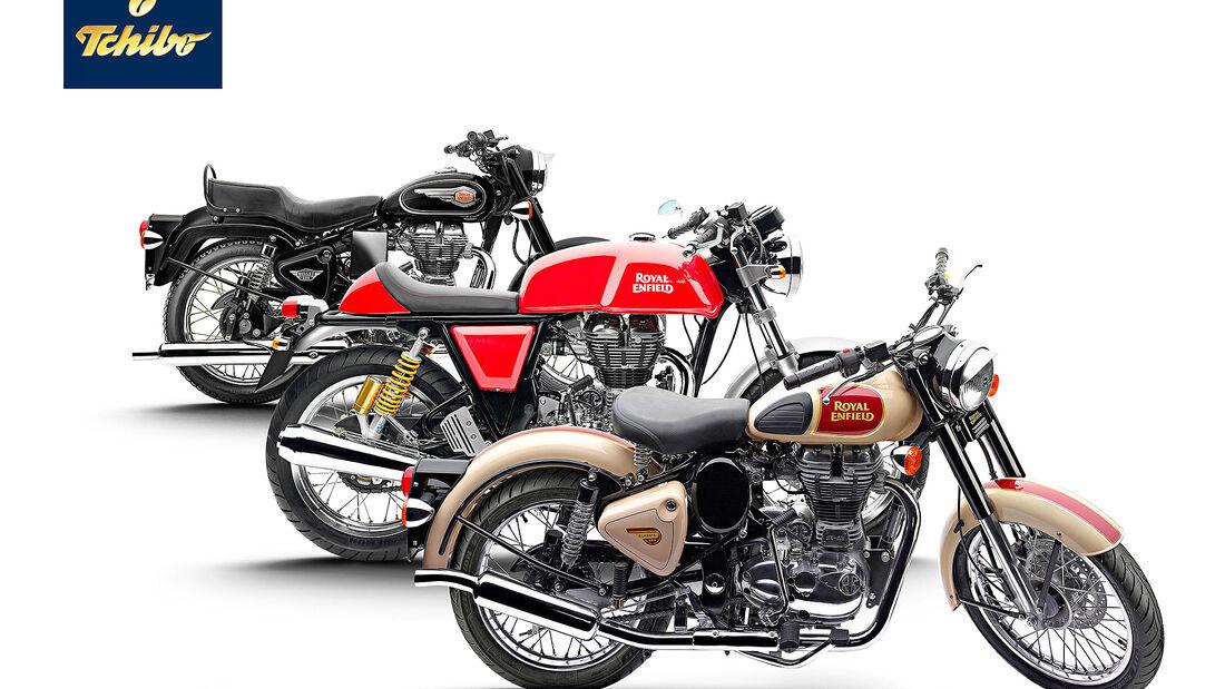 Royal Enfield Motorräder Tchibo
