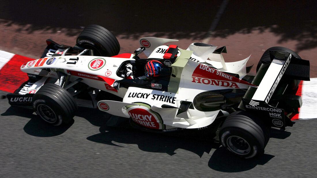 Rubens Barrichello - BAR Honda RA106 - GP Monaco 2006