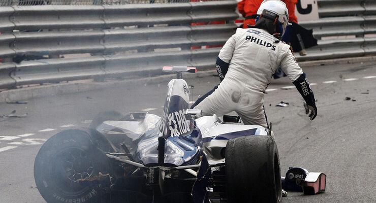 Rubens Barrichello Crash
