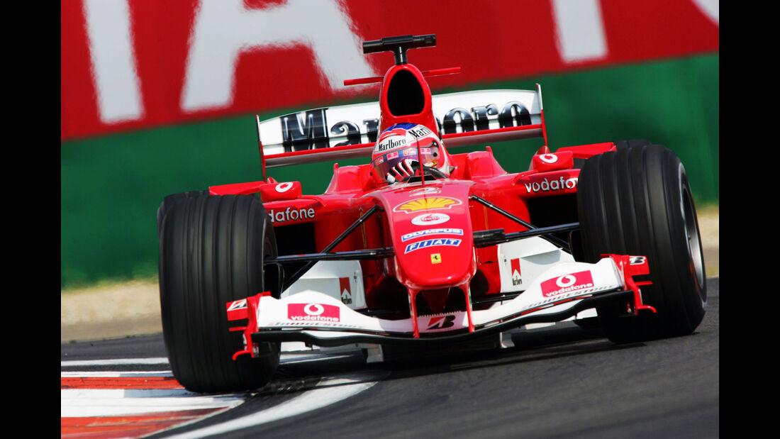 Rubens Barrichello - Ferrari F2004 - GP China 2004
