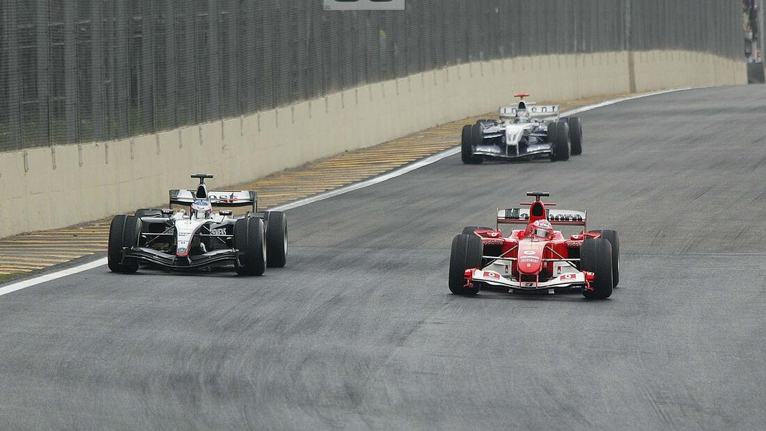 Rubens Barrichello - Formel 1 - GP Brasilien 2004