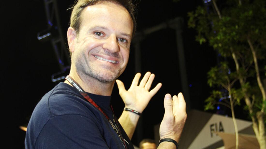 Rubens Barrichello - Formel 1 - GP Singapur - 21. September 2013
