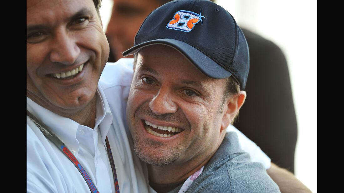 Rubens Barrichello - Formel 1 - GP USA - Austin - 17. November 2012