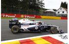 Rubens Barrichello GP Belgien 2011
