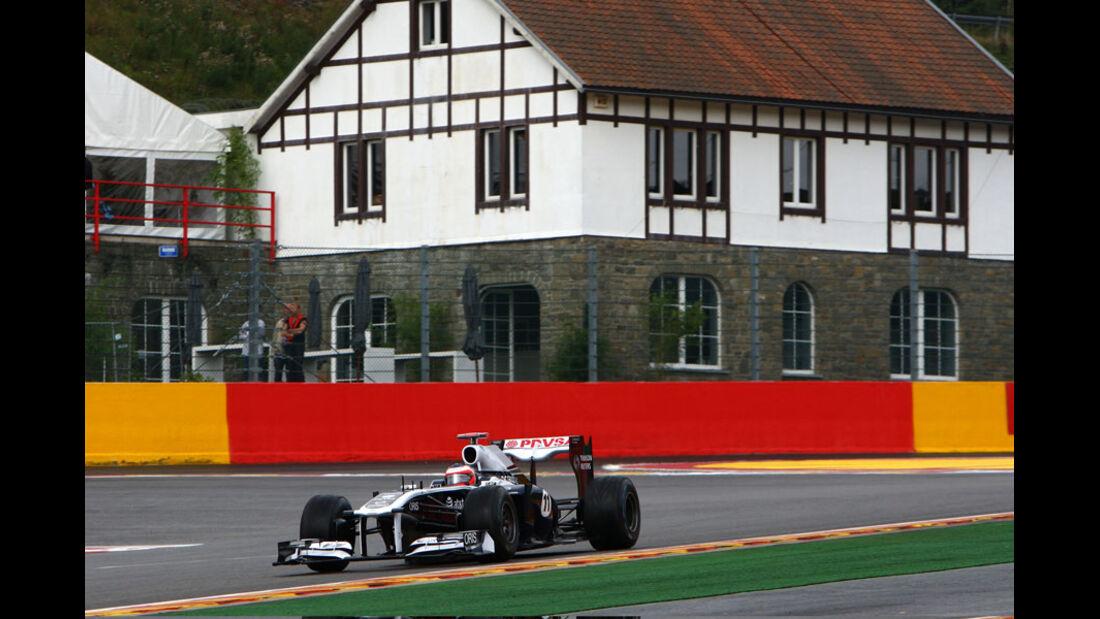 Rubens Barrichello - GP Belgien - 26. August 2011