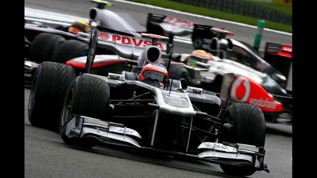 Rubens Barrichello - GP Belgien - Qualifying - 27.8.2011