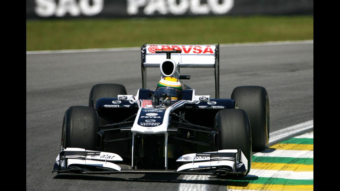 Rubens Barrichello - GP Brasilien - 25. November 2011