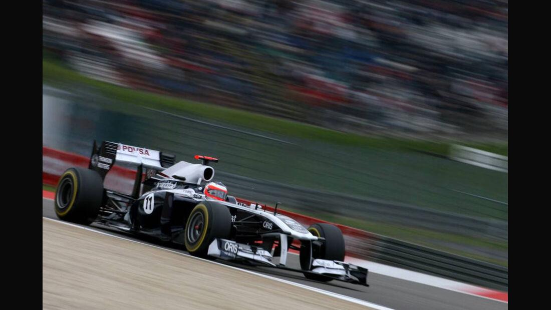 Rubens Barrichello - GP Deutschland - Nürburgring - 22. Juli 2011