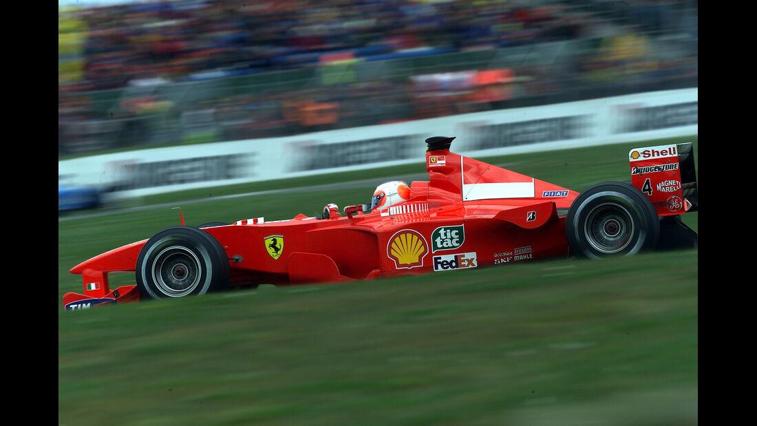Rubens Barrichello - GP England 2000