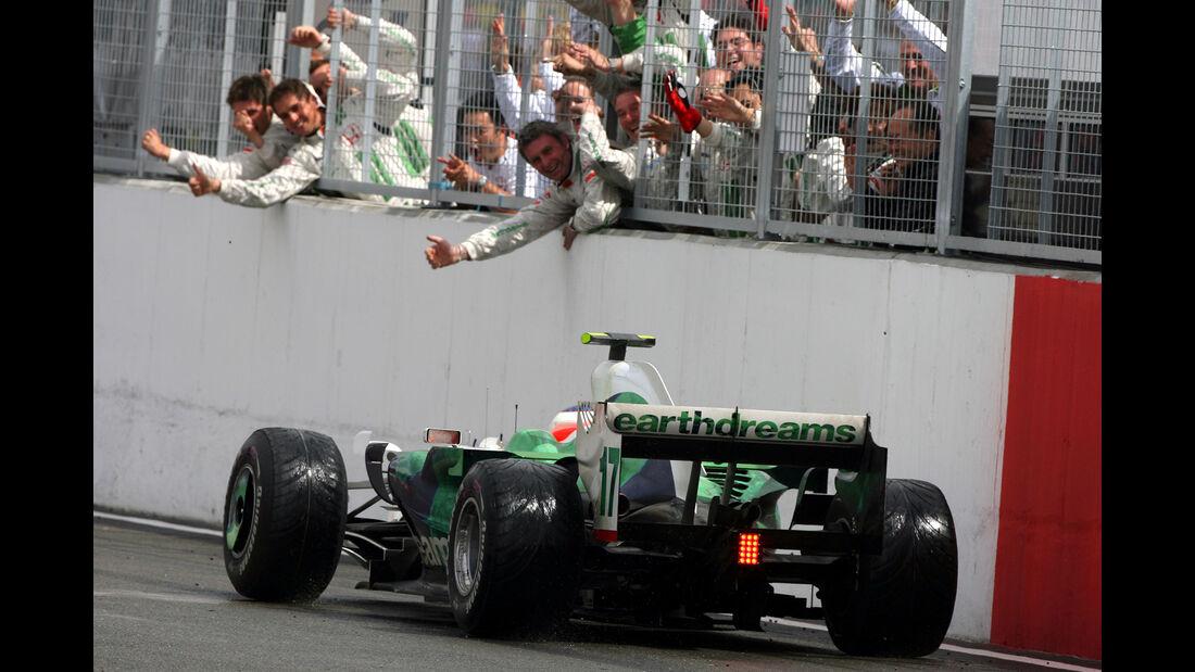 Rubens Barrichello - GP England 2008
