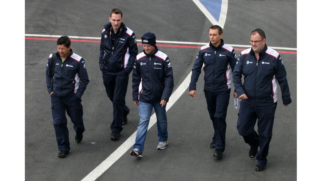 Rubens Barrichello - GP England - Silverstone - Do. 7. Juli 2011