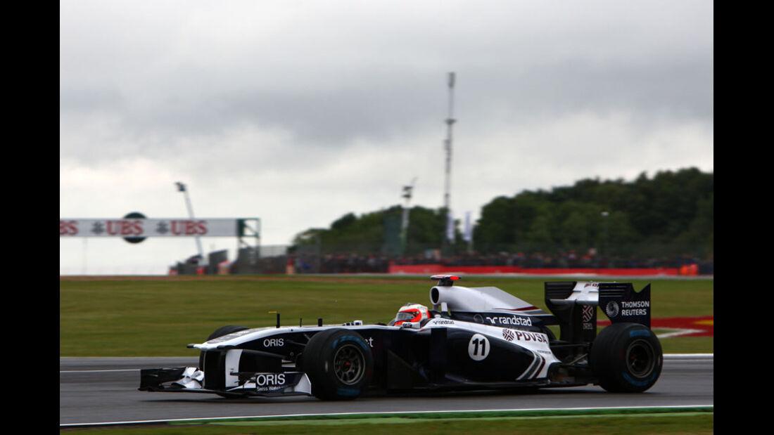 Rubens Barrichello - GP England - Training - Silverstone - 8. Juli 2011