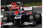 Rubens Barrichello GP Spanien 2011