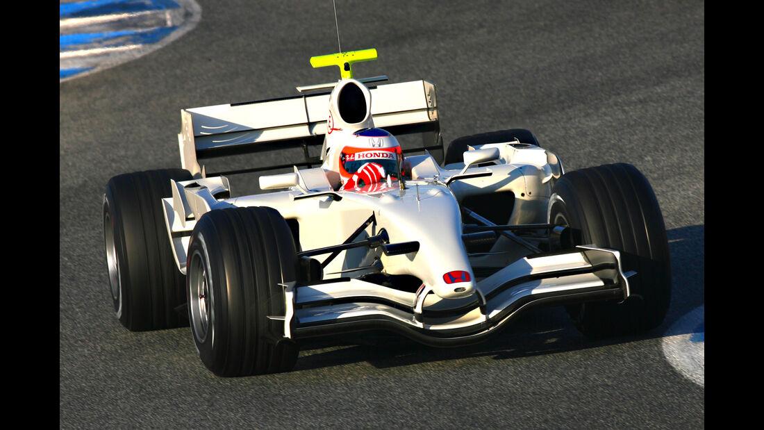 Rubens Barrichello - Honda RA107 - Jerez - 2007